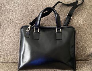 Bolso maletín ordenador piel