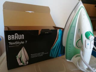 Plancha de ropa Braun TexStyle 7