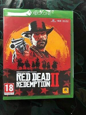 RDR2 - Xbox one still sealed