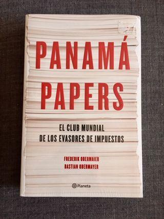 """Famoso libro """"Panama Papers"""" de Frederik Obermaie"""