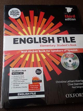 Libro English File Elementary oxford