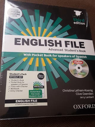 Pack libros English File oxford