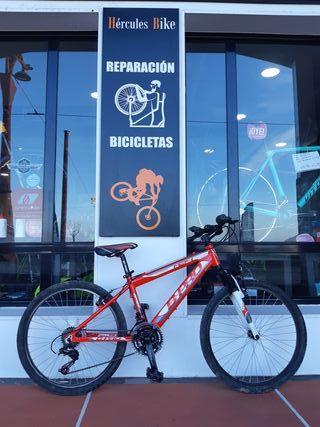bicicleta aluminio niño rueda 24 b-pro