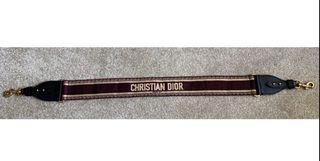 Dior Saddle Bag Belt