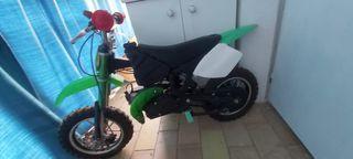 mini moto 49cc cross gasolina