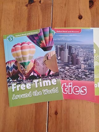 Oxford Read and Discover. Free Time y Cities