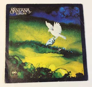 SANTANA Europa Disco Vinilo Single