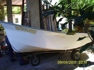 Barca estilo Llaut,motor Montesa 4cv