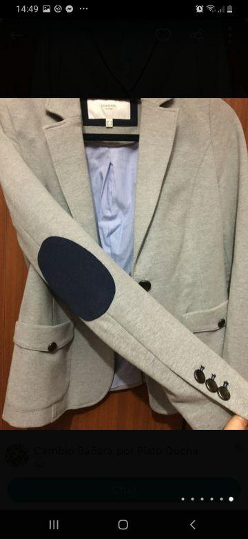 Blazer color gris