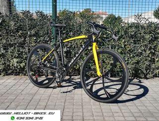 Bicicleta ciclocross Helliot Berlin