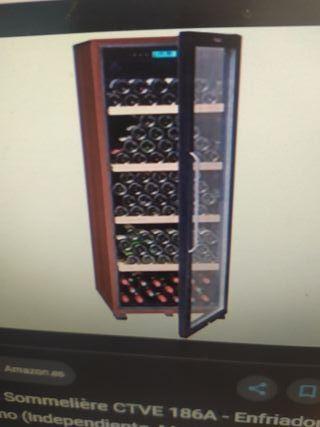 vinoteca de envejecer vino LA SOMMELIERE CTVE 186