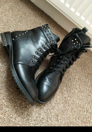 INCH2 like shoes boots black