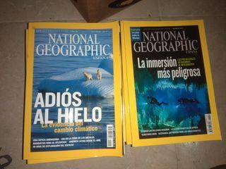 Revistas National geographic Reliquia!!