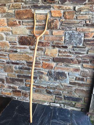 Forca/Horca antigua de madera