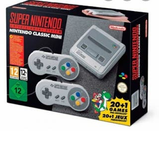 Super nintendo mini clasic