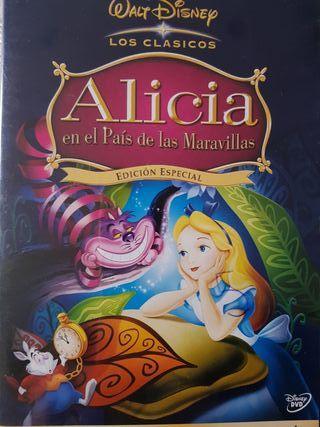Película DVD Alicia en el País de las Maravillas