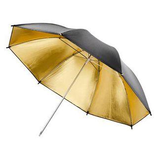 Paraguas reflector dorado para fotografía de 180cm