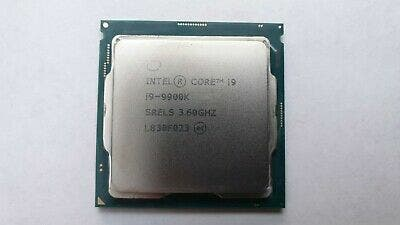 Intel Core i9-9900k (Barely used)