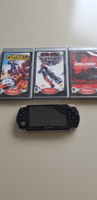 PSP slim con videojuegos