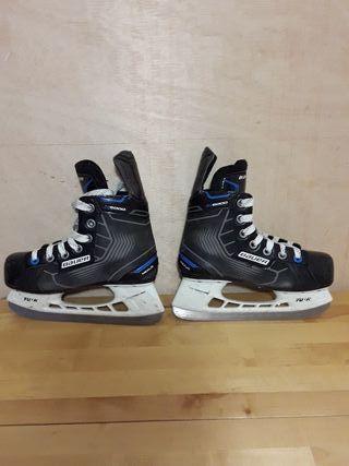 hockey patines hielo Bauer