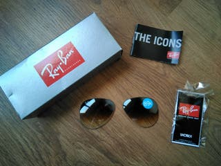 lentes originales Ray Ban Aviator