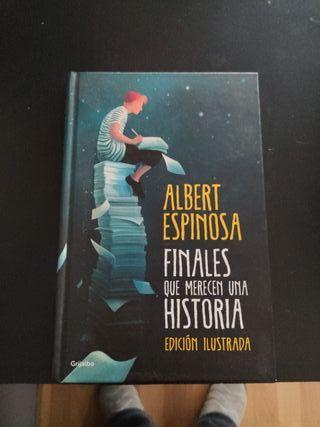 libro tapa dura Albert Espinosa