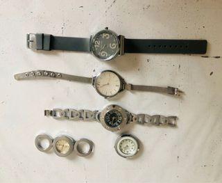 Lote relojes reparar o piezas