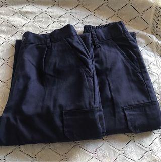 2 pantalones de trabajo