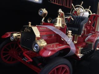 road signature ford modelo T bomberos