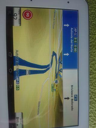 Tablet Samsung 2 con GPS IGO PRIMO