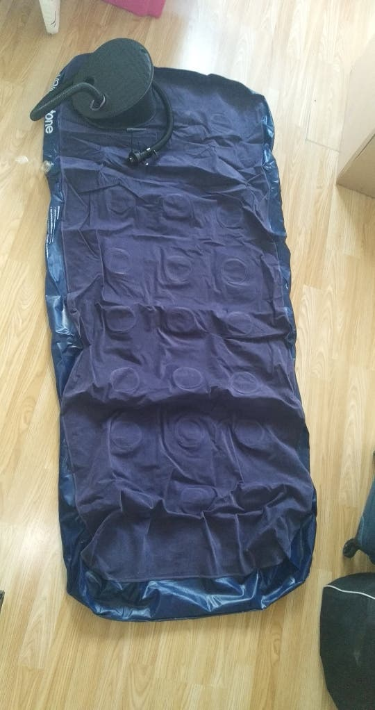 inflatable air bed with AIR PUMP FOR FREE