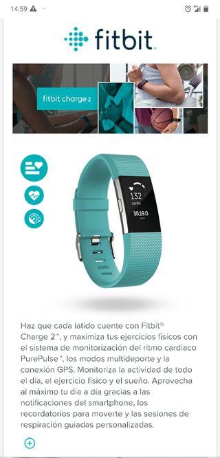 Fitbit Charge 2 Pulsera de actividad ¡¡NUEVA!!