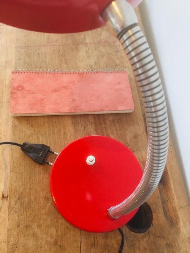 Lámpara de mesa flexo vintage