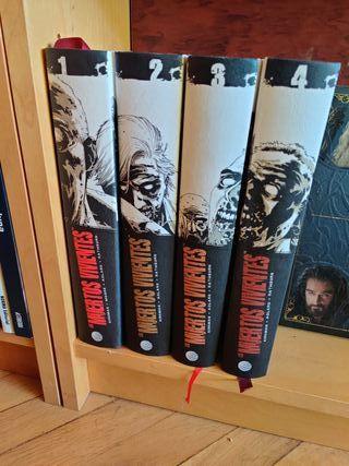 The Walking Dead comics. Tomos 1-4