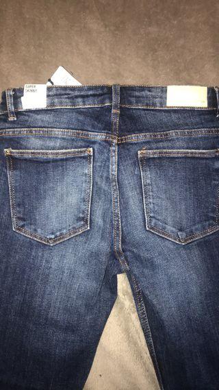 Distressed Zara jeans