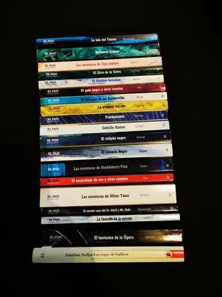 Clásicos universales, novelas aventuras