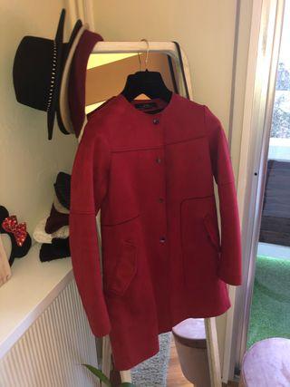 Manteaux Zara Rouge