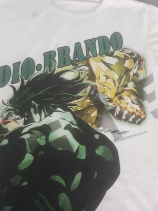 Camiseta Friky Dio Brando THE WORLD