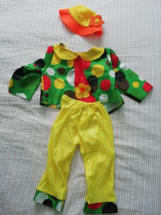 Disfraz de pallaso