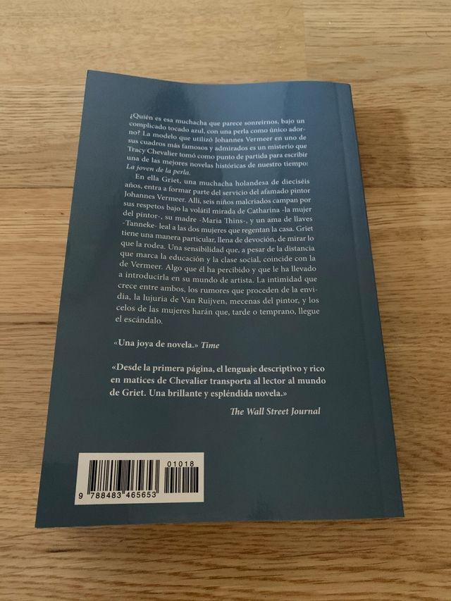 Libro LA JOVEN DE LA PERLA _ Tracy Chevalier