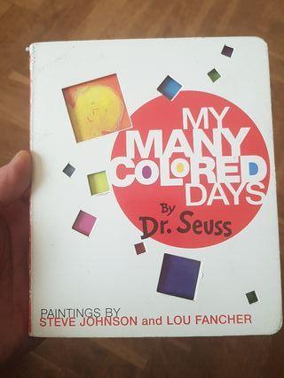 My many colored days, en inglés, Dr Seuss