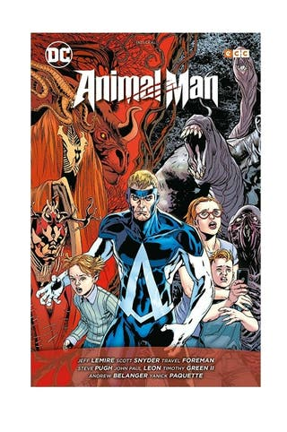 cómic Animal Man: El Reino Rojo