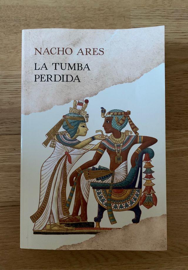 Libro LA TUMBA PERDIDA _ Nacho Ares