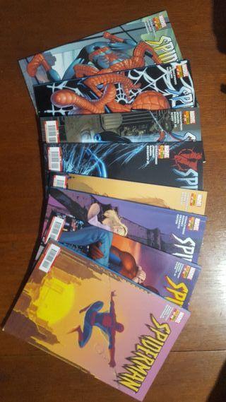 Pack comics spiderman