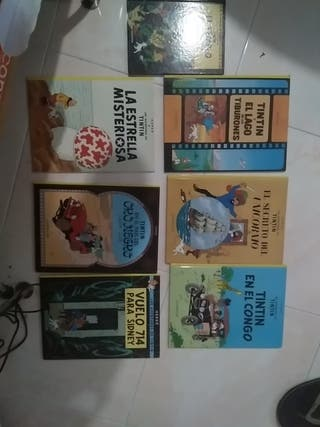 Lote comics Tintin