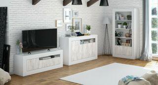 Mueble de comedor salón TV, Modulo salon moderno,