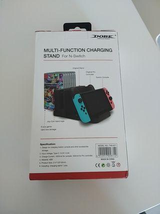 Cargador multifunción para Nintendo Switch