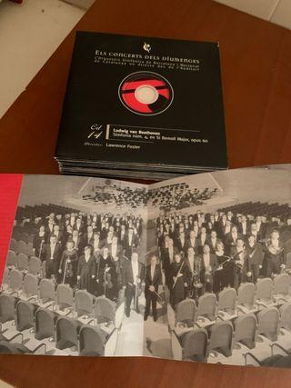 Joc de 12 CD de la orquestra sinfonica
