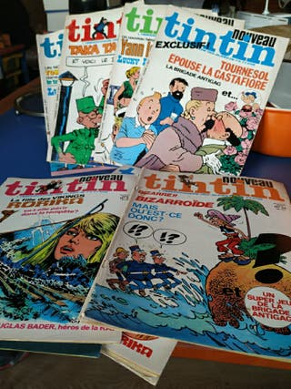 comics Tintín año 76