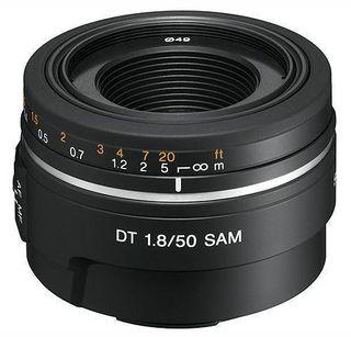 Objetivo Sony DT 50mm f/1.8
